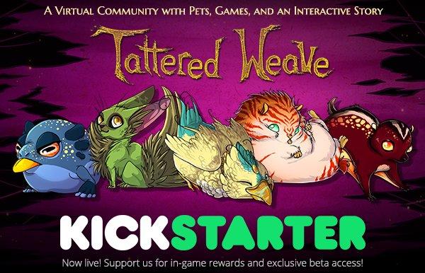 Tattered Weave Kickstarter