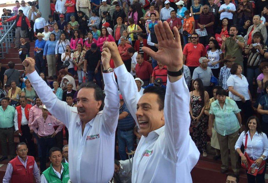 #Hidalgo tendrá como Gobernador a @omarfayad. ¡Gracias #Pachuquilla por recibirme con tanto cariño! https://t.co/rDnUvsyav9