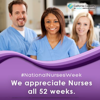 Most will appreciate nurses this week during National Nurses Week, but we appreciate you all year long! https://t.co/Q5B2zXhm08