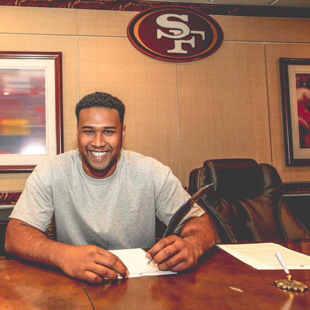 """San Francisco 49ers On Twitter: """"Signed, Sealed, Delivered"""