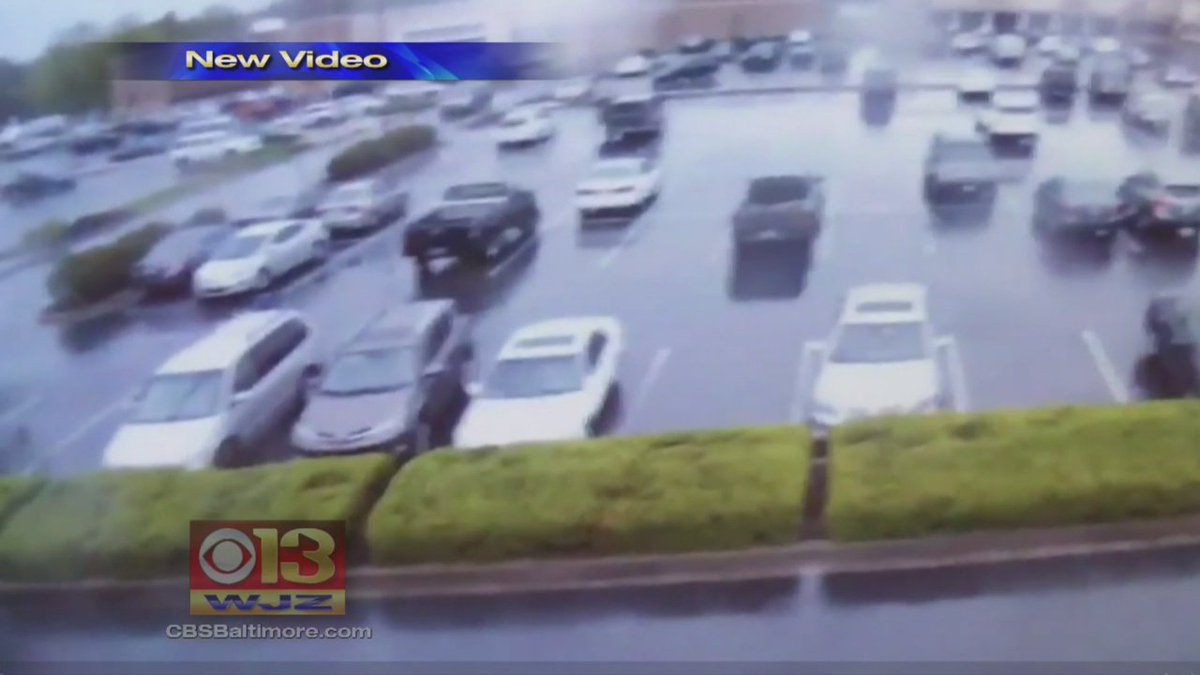 Md. shooting spree. Video shows officers pin suspect in car before arresting him