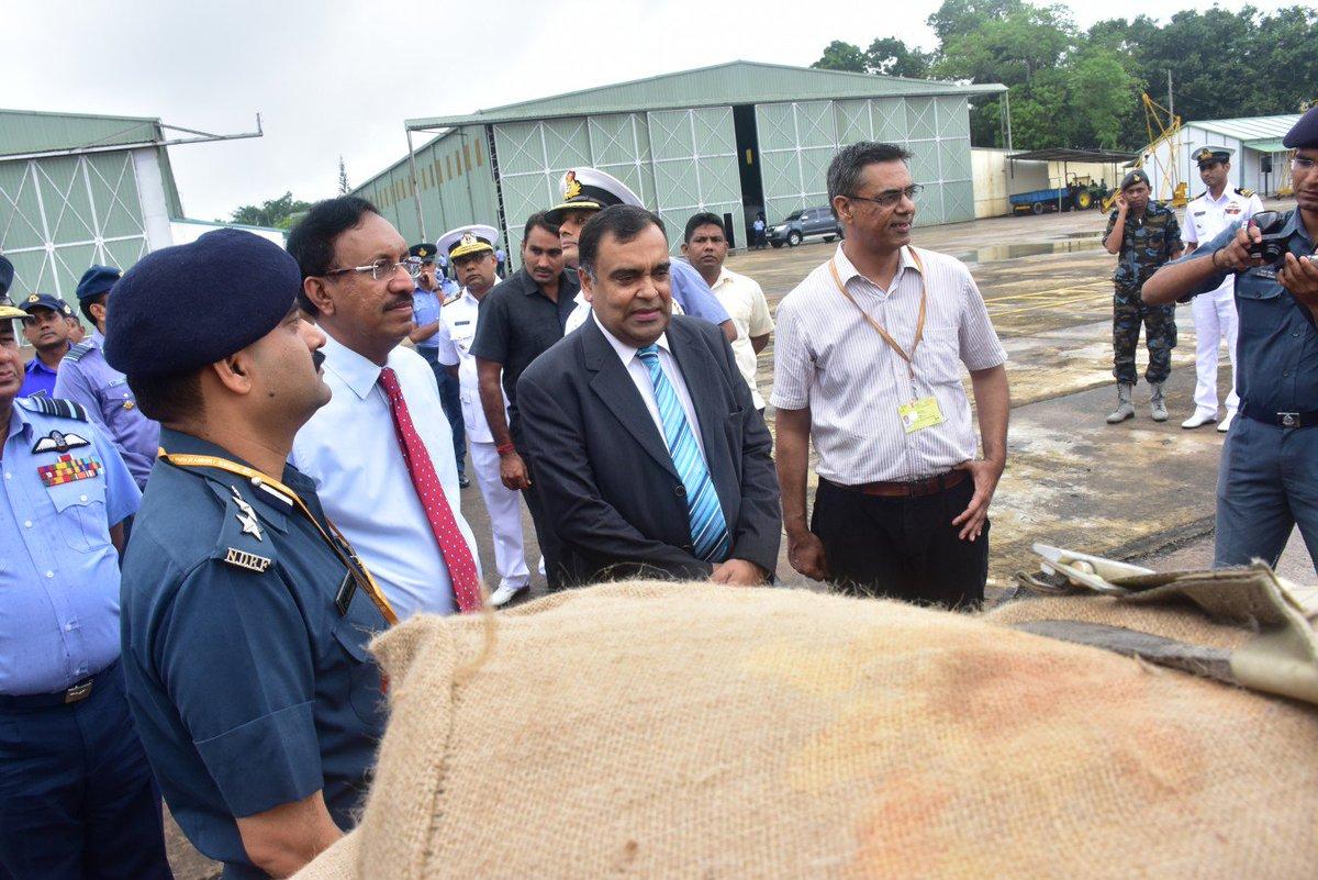 India handed over to Sri Lanka a patrol ship 33