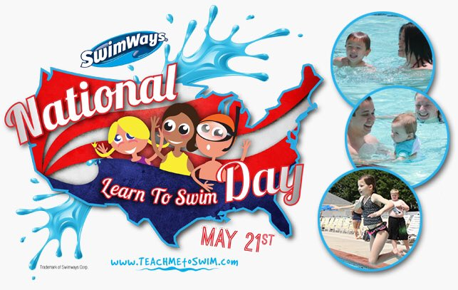 Today is the day! National Learn to Swim Day w/ @SwimWays in Virginia Beach! https://t.co/ZLTlEr2SsN