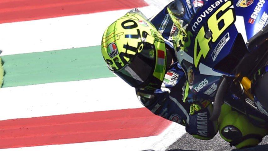 MotoGP: Mugello in festa per la pole di Valentino Rossi nel Gp d'Italia