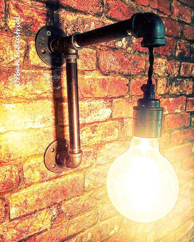 Pipe Wall Light £69 - Available At Urban Industrial https://t.co/mS3g1iiA2z @eBay #ATsocialmedia #retro #vintage