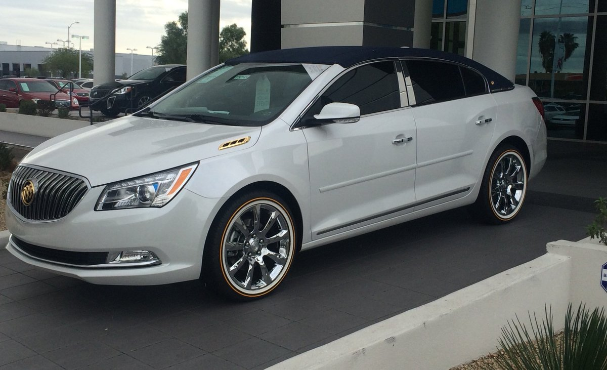 Buick Lacrosse On Vogue S Tires Pictures To Pin On