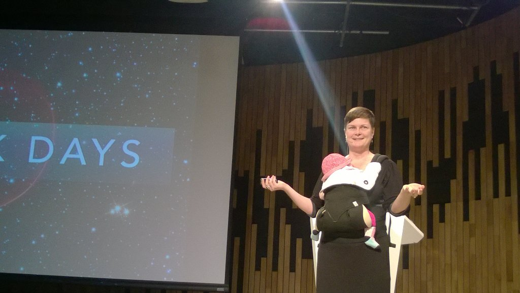 Hack Days: Work to achieve non standard goals quickly - @astropixie #IdaLuna #CAP2016 https://t.co/gLU5gmXbtF