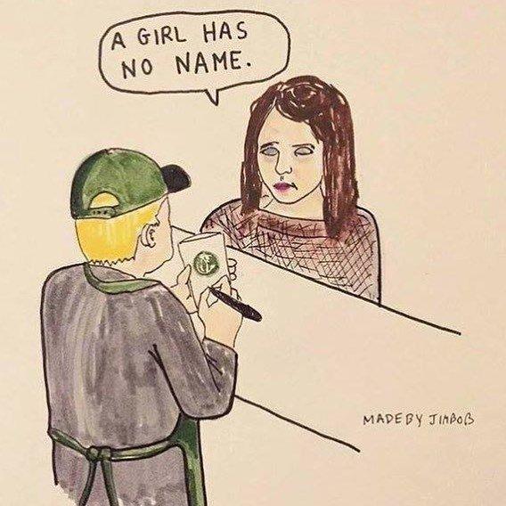 Arya Stark struggles to order at Starbucks. #GOT https://t.co/ZXFrDpPcT1