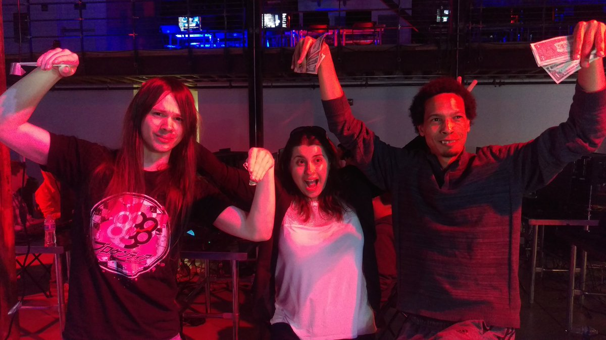 Wednesday Night Fights 2.3 Top 3. 1st - Millertime, 2nd - Muffinman, 3rd - Mr. Igloo