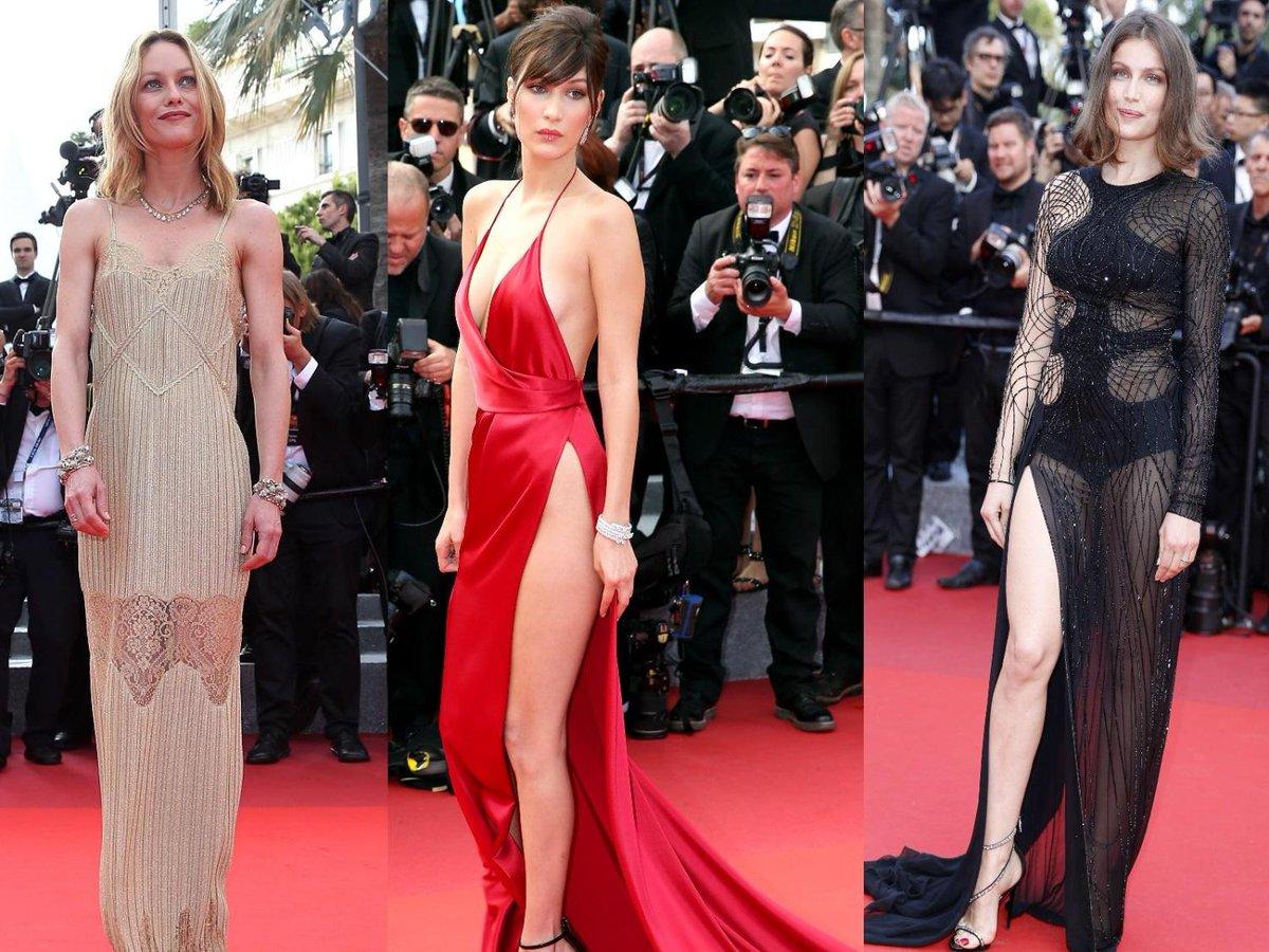 Festival De Cannes 2016 : Bella Hadid Nue Sous Sa Robe
