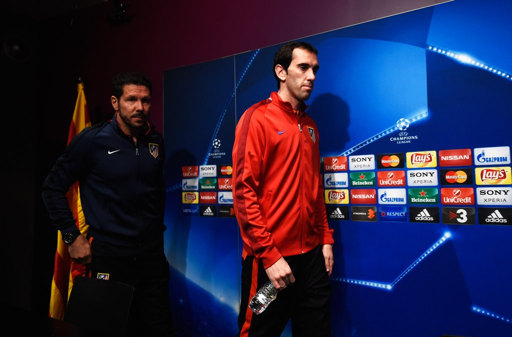 Godín: 'The players would die for him [Simeone]. He gives belief that we can compete against much bigger teams.'