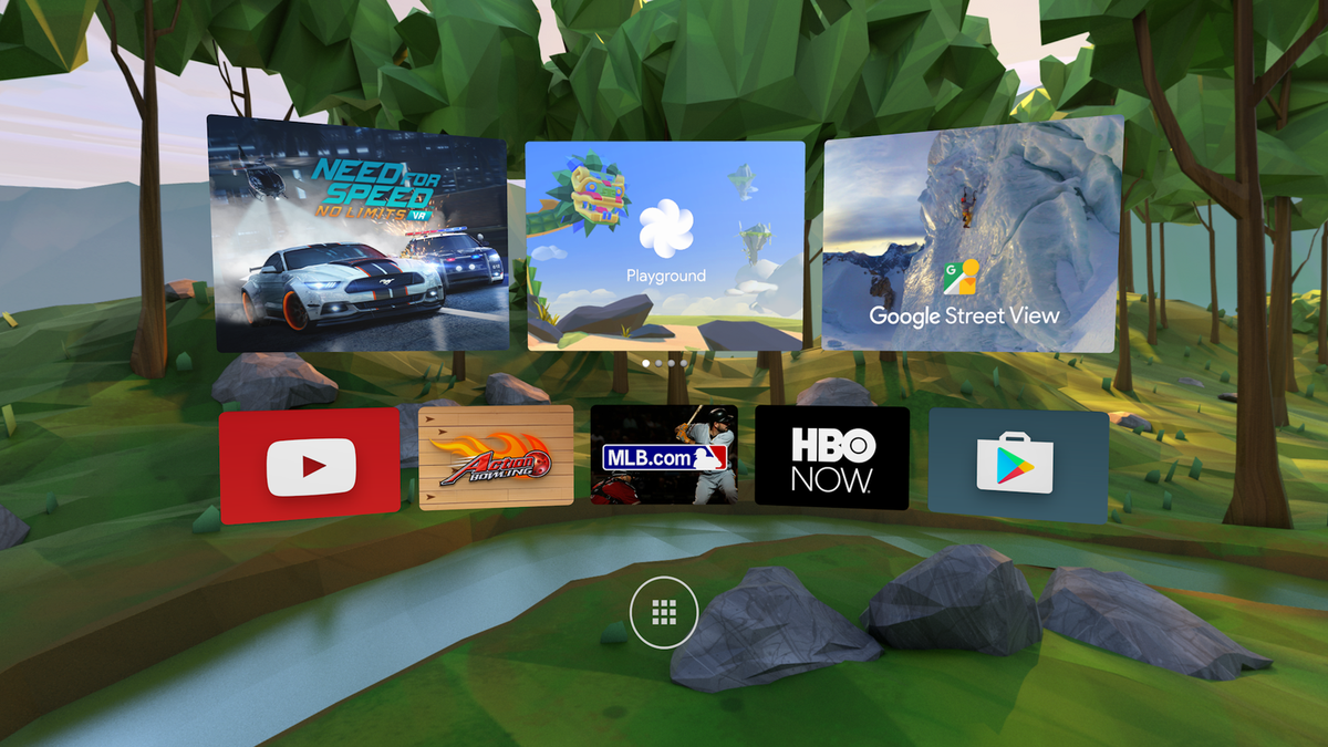 Daydream is Google's Android-powered VR platform