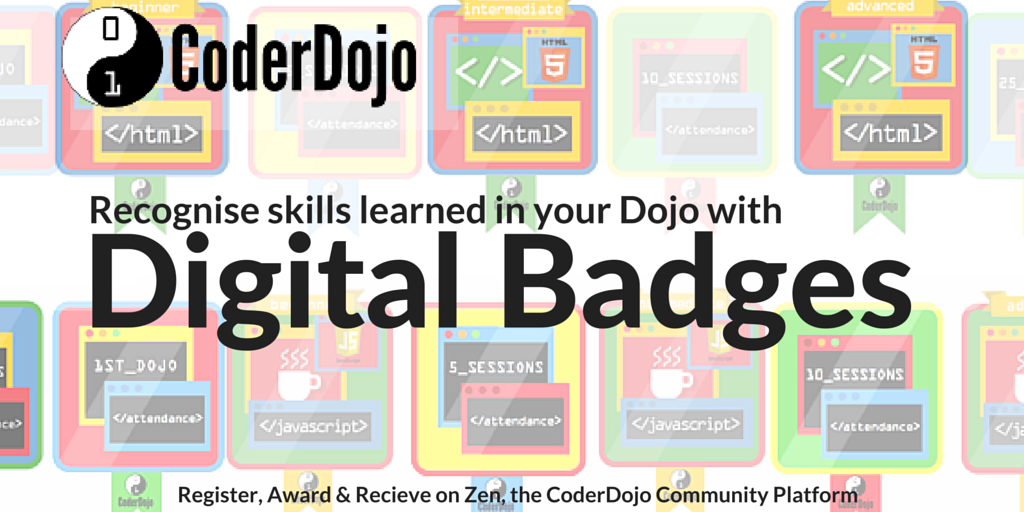 Image result for coderdojo digital badges