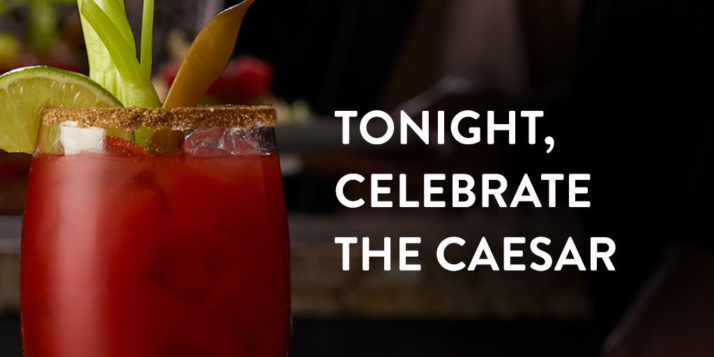 Message sur Twitter : Happy #NationalCaesarDay, Canada. https://t.co/ADvuM43EHm…Lire davantage. Ouvrir le message complet en superposition.