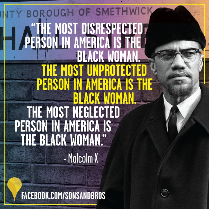 RT @sonsandbros: Today, we celebrate the life and the work of Malcolm X. #MalcolmX. #BlackHistory #civilrights https://t.co/eRLuZHPDmM