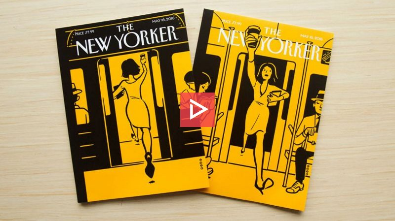 The New Yorker's new cover is an animated AR experience that might be worth the effort