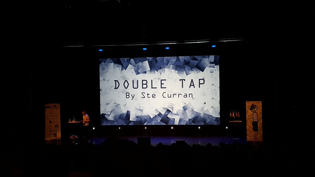 "Looking forward to Ste Curran @steishere talk ""Double tap"" #NordicGame https://t.co/htusnT3eIW"