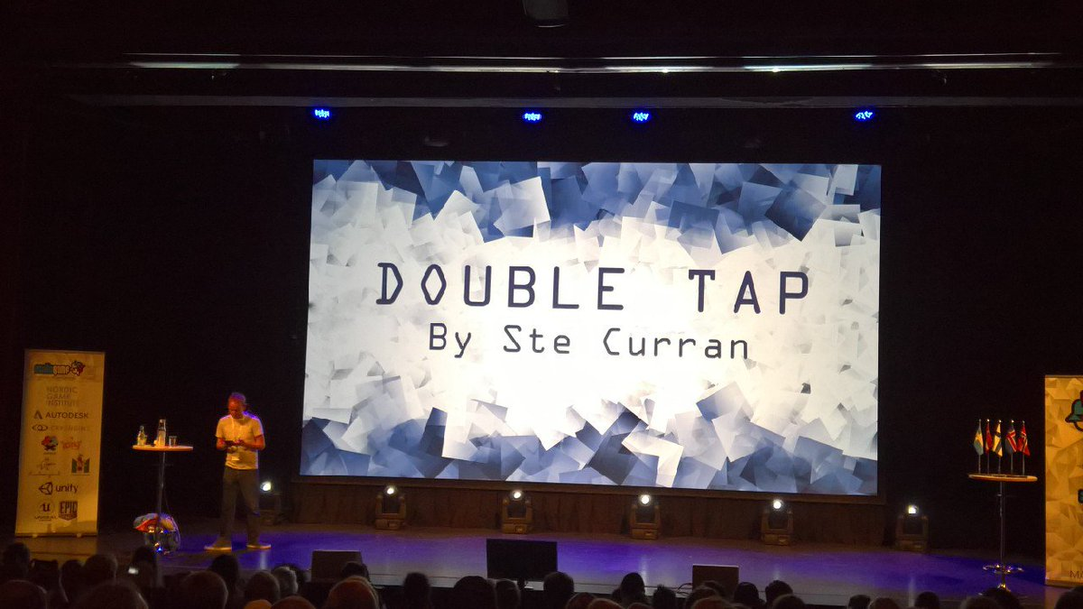 A new year of #NordicGame means a new talk by @steishere, and that means pure awesomeness is about to happen! https://t.co/nnmxvnNssH