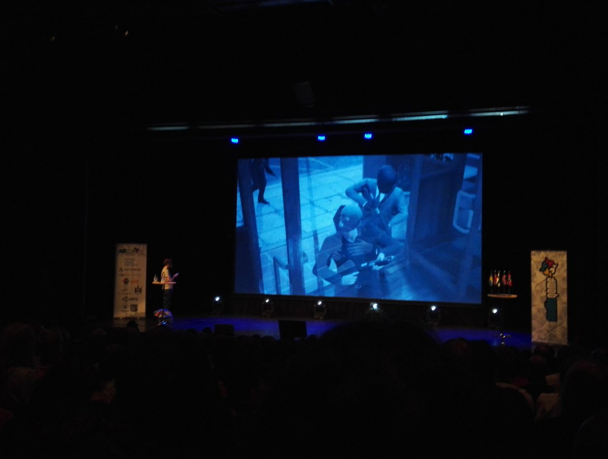 "Finally: @steishere ""Double Tap"". #nordicgame https://t.co/6B1KT709ZG"