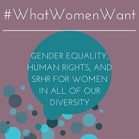 #WhatWomenWant #genderequality, human rights & #SRHR 4 women @UN_PGA @NetworkAthena @WorldYWCA #SDGs #HLM2016AIDS https://t.co/sRX619XRnB