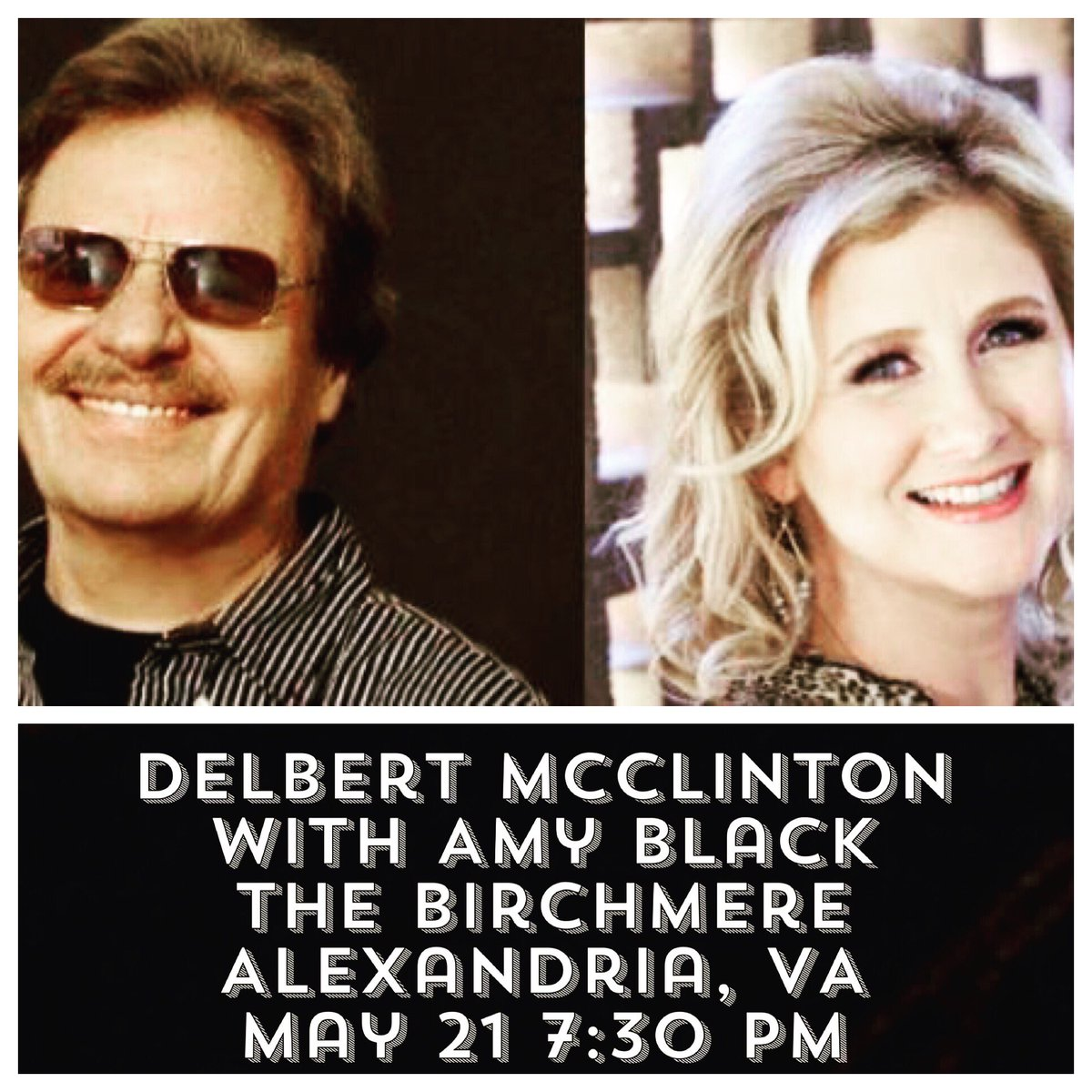Delbert McClinton & Amy Black at The Birchmere in Alexandria, virginia