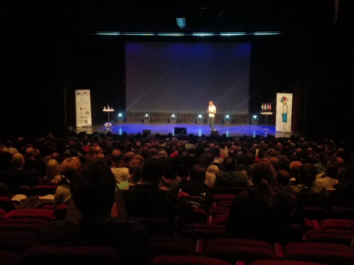 @steishere delivering an impassioned speech regarding violence in games. #NordicGame @NordicGame https://t.co/6eCHyJbiVg