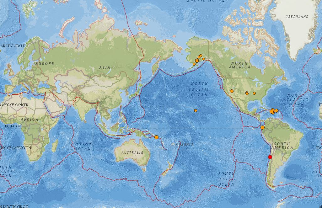 Usgs On Twitter Real Time Earthquake Map Lets You View Recent
