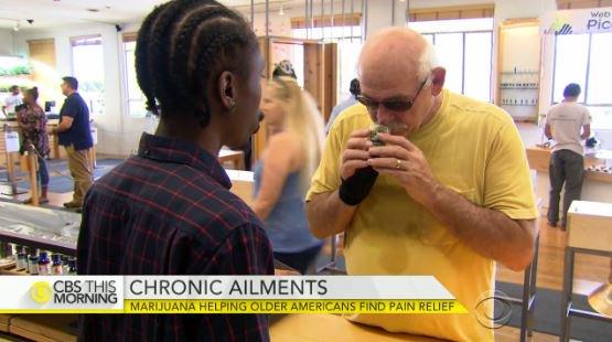 Marijuana helping older Americans find pain relief