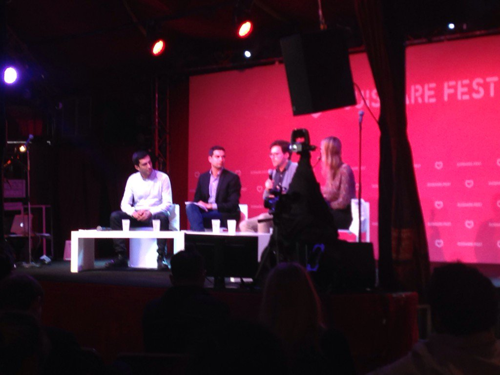 @mdchouk @yfichtali @nathanairplane on stage: are plateform coops the future of #EcoCollab ? @OuiShareFest #OSFEST16 https://t.co/MOjezyXknC