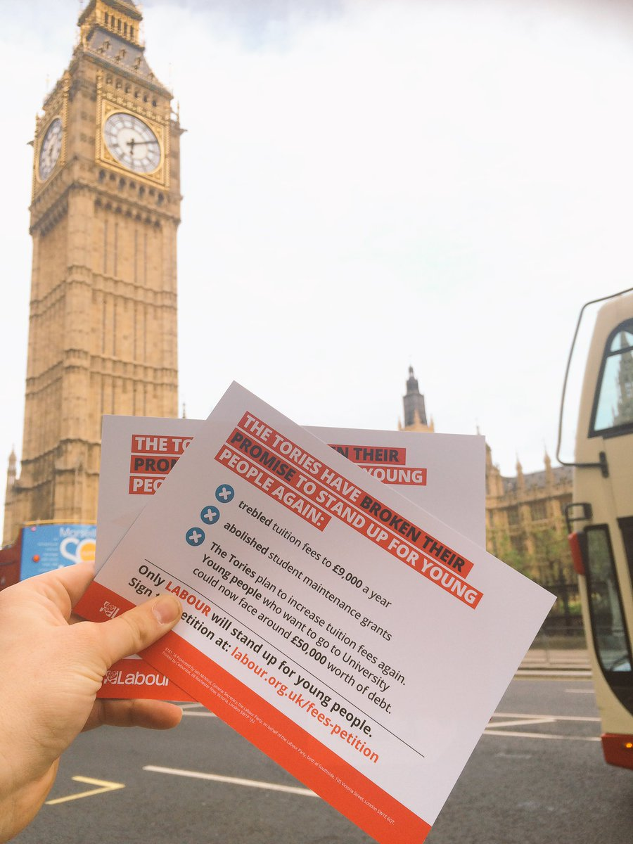 Now we're at Westminster to show politicians that we won't accept #ToryPriceTag on education https://t.co/5OKf754mr1 https://t.co/p3ymAjiFYE