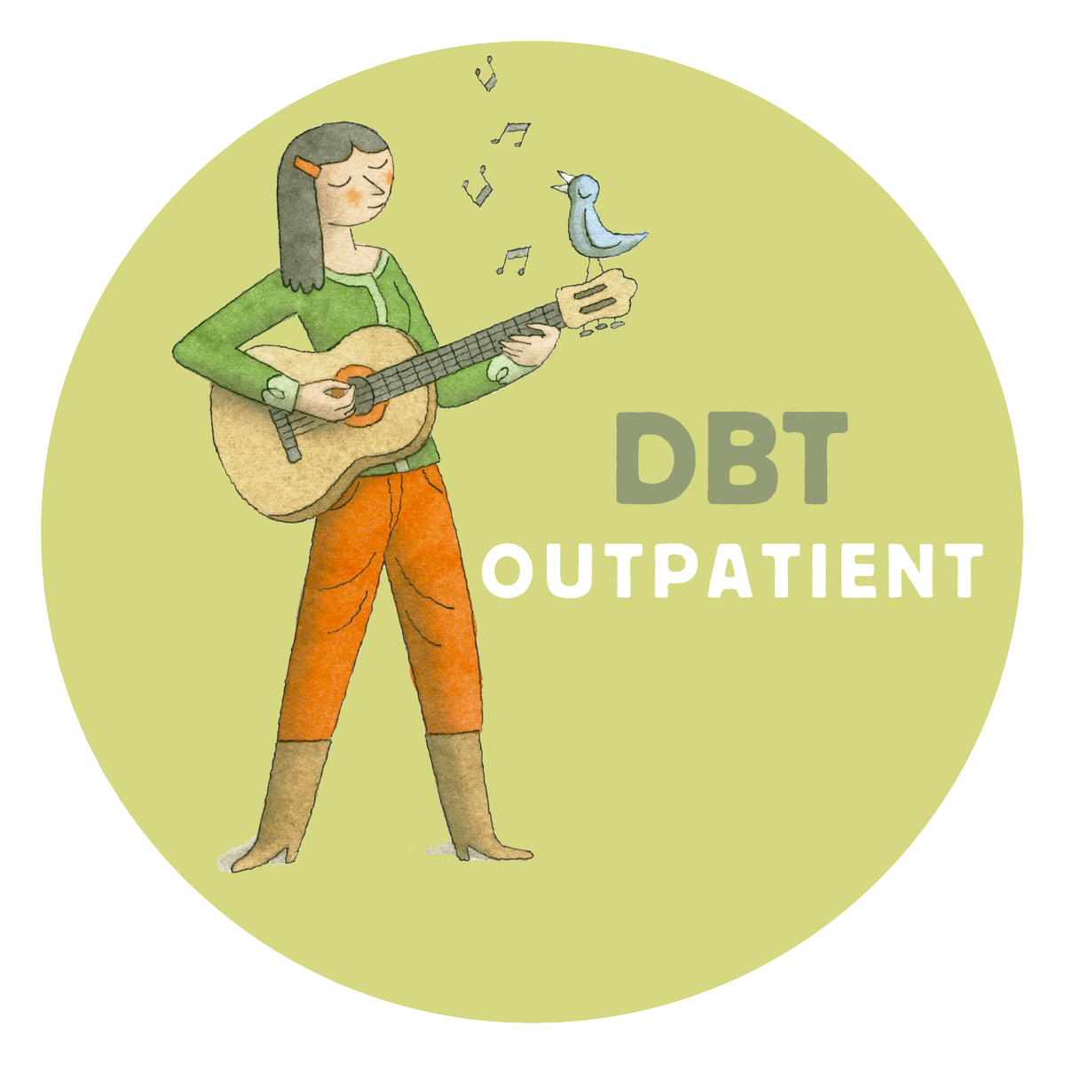 "DBT Aftercare-- ""Standard DBT""--less intensive! A great option for kids returning home from residential!"