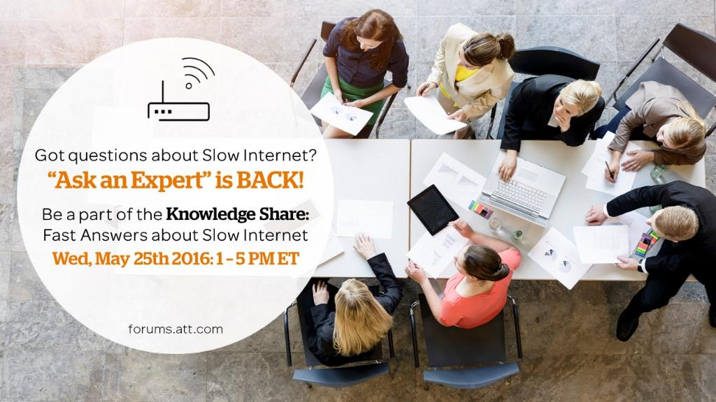 Have questions about slow Wi-Fi? We're hosting a 4hr LIVE session next week with answers: https://t.co/01yq2RqVte https://t.co/cNm6TlhxZx