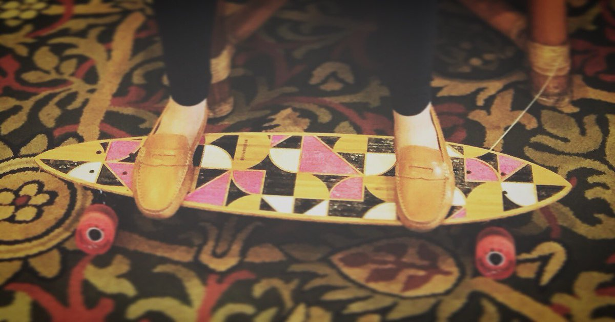 Loafers on longboard? No problem. #vcon