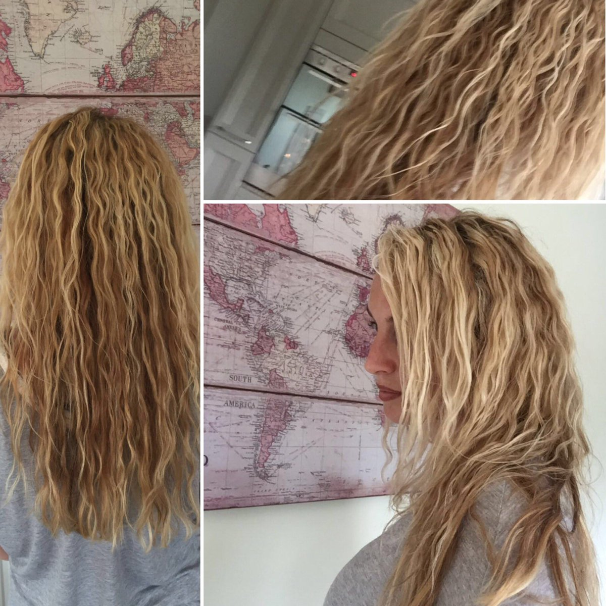 Brilliant Shabby Chic Hair On Twitter The Beach Wave Perm On Natural Hairstyles Runnerswayorg