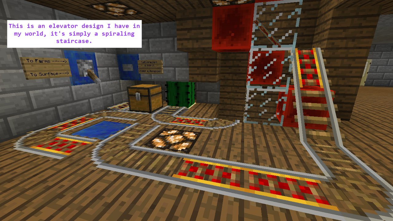 minecraft mining station