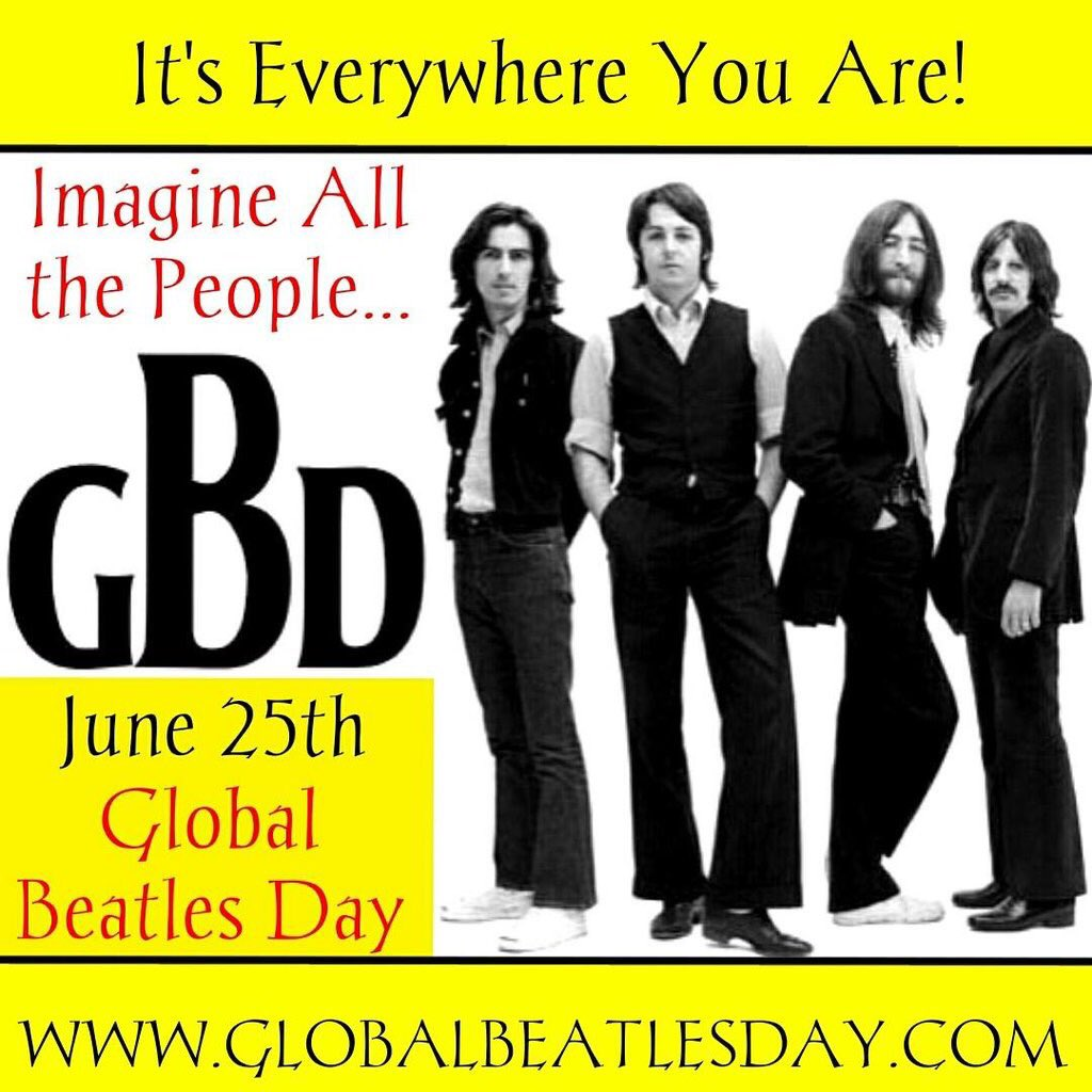 """Global Beatles Day on Twitter: """"It's comin down fast!… """""""