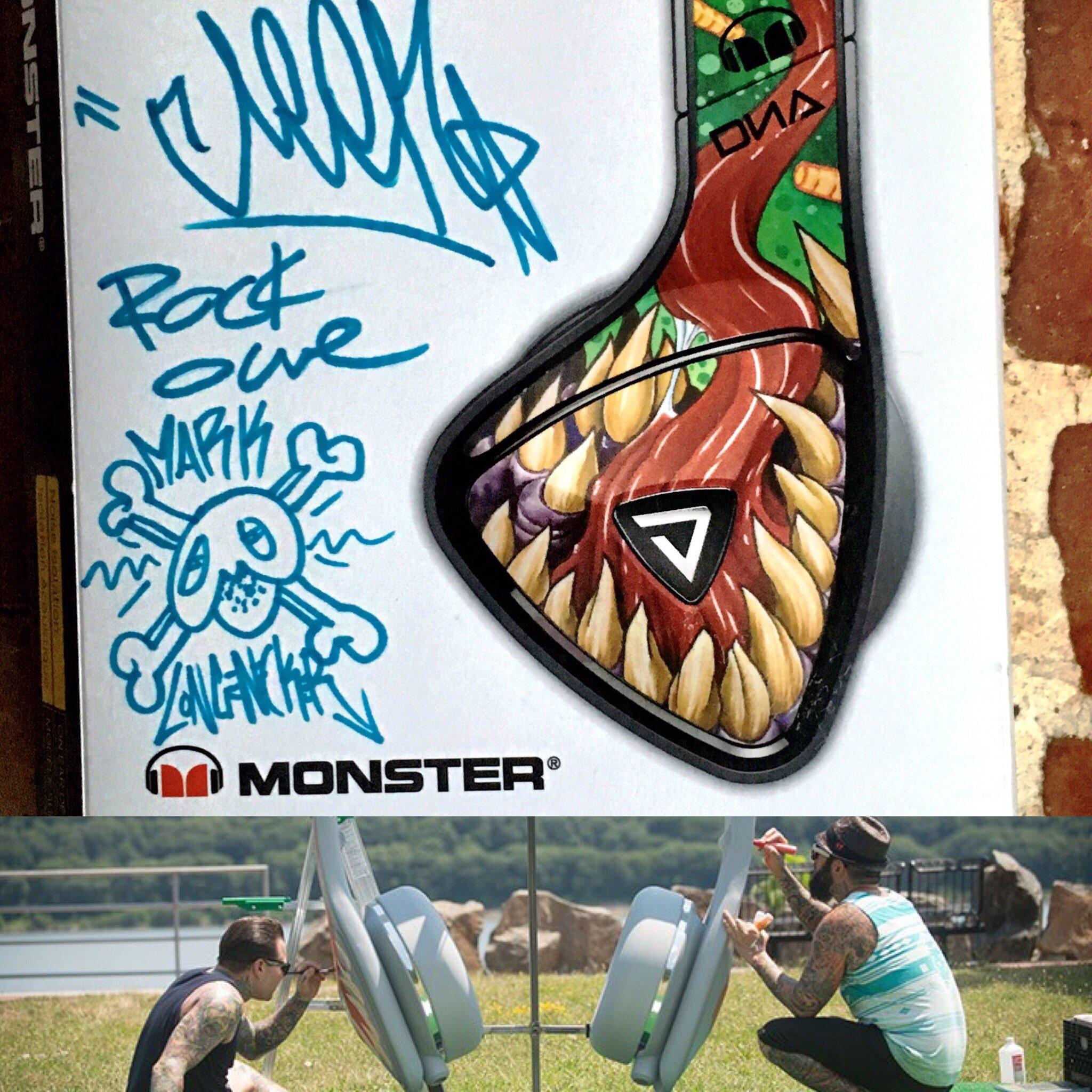 Monster headphones ink master
