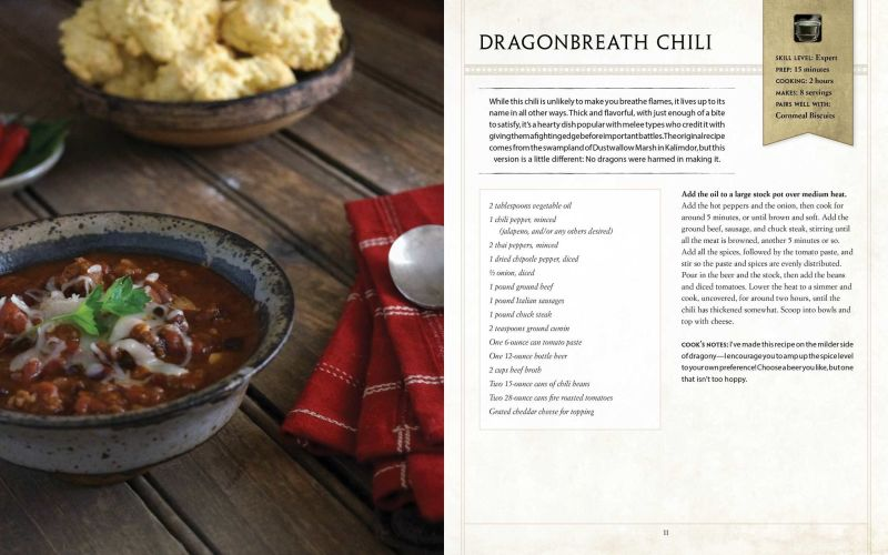 Craving Dragonbreath Chili Check Out New World Of Warcraft Cookbook My Cnet Story Bonnie Burton Scoopnest