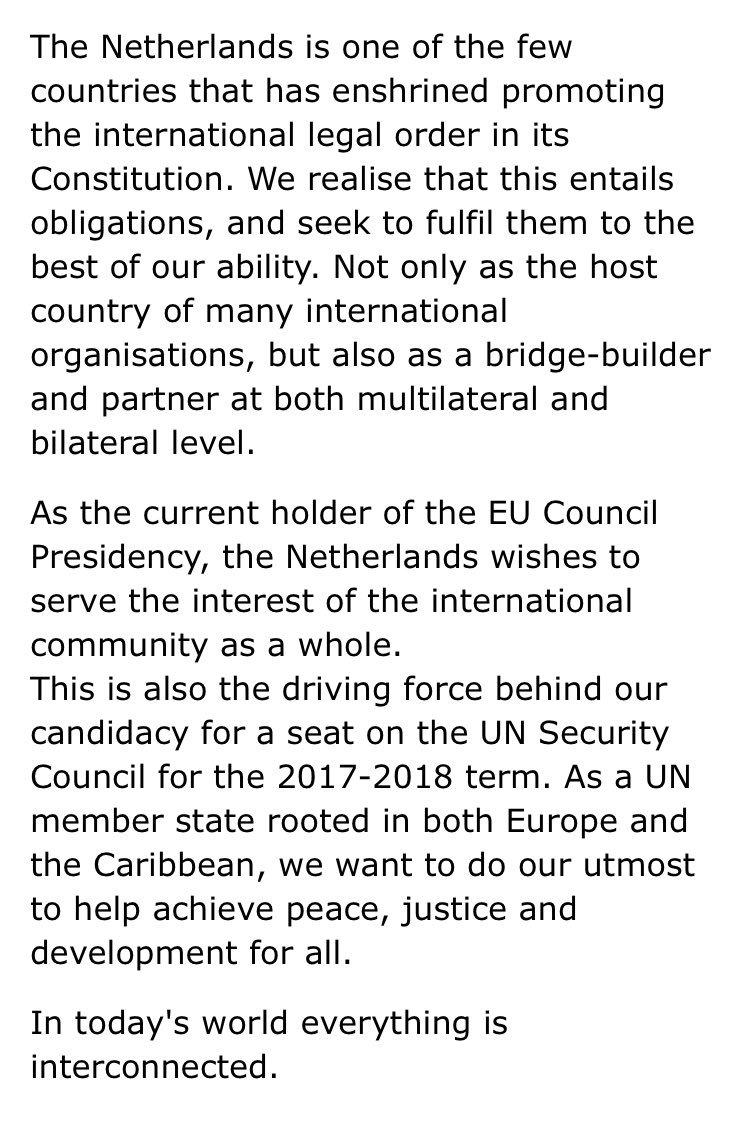 World Peace Order: Towards An International State