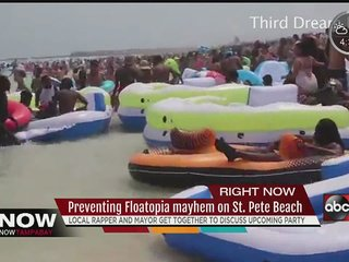 """Rapper Forgiato Blow's """"float-party"""" concerns St. Pete Beach officials and residents"""