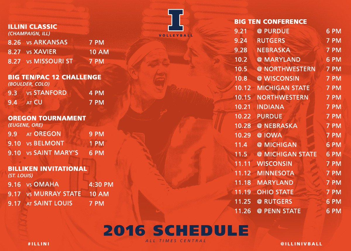 Here's the full schedule!  More info » https://t.co/1G5KALC1QD https://t.co/tgzsv6q43K