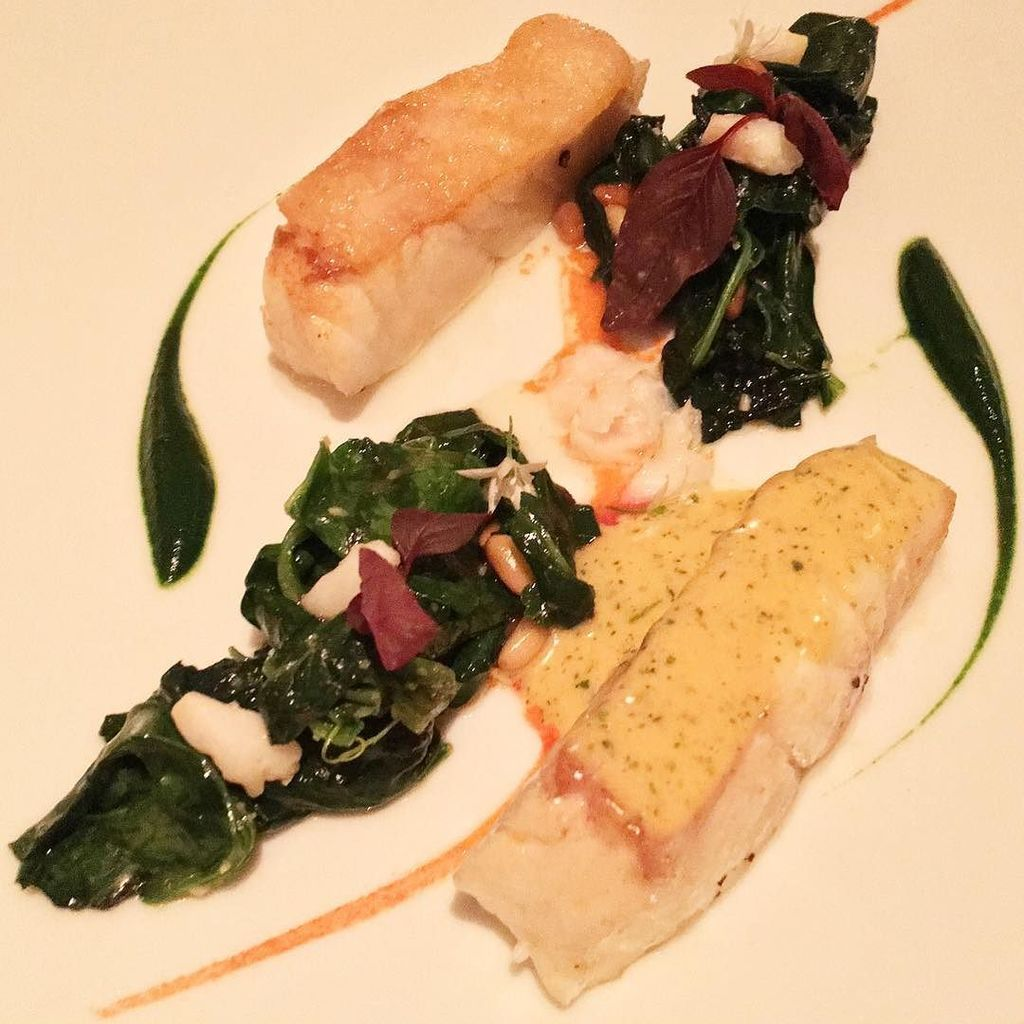 UltraVaganza Turbot roasted on the bone at 3-Michelin Star