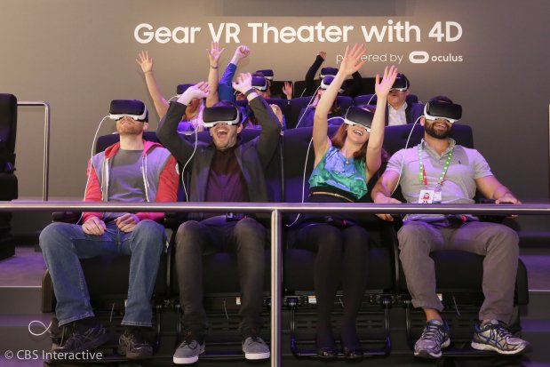 IMAX to dive into virtual reality