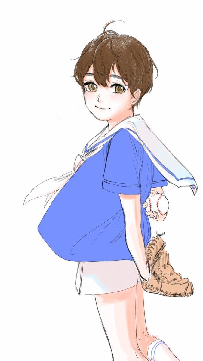늦여름님 @rycb4 리퀘 크리미유 2세 나왔습니다! 외모는 크리스 핏줄 빼박인데  성격은 미유키랑 닮은 점이 많을 것 같아요