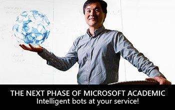 The next phase of Microsoft Academic: intelligent bots! #MicrosoftAcademic  http:// aka.ms/msacademic  &nbsp;   @MSFTAcademic<br>http://pic.twitter.com/7QVE1LxbHD