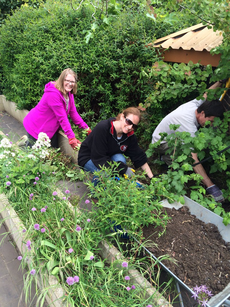 More good work by the team @DoddGarden #giveandgain