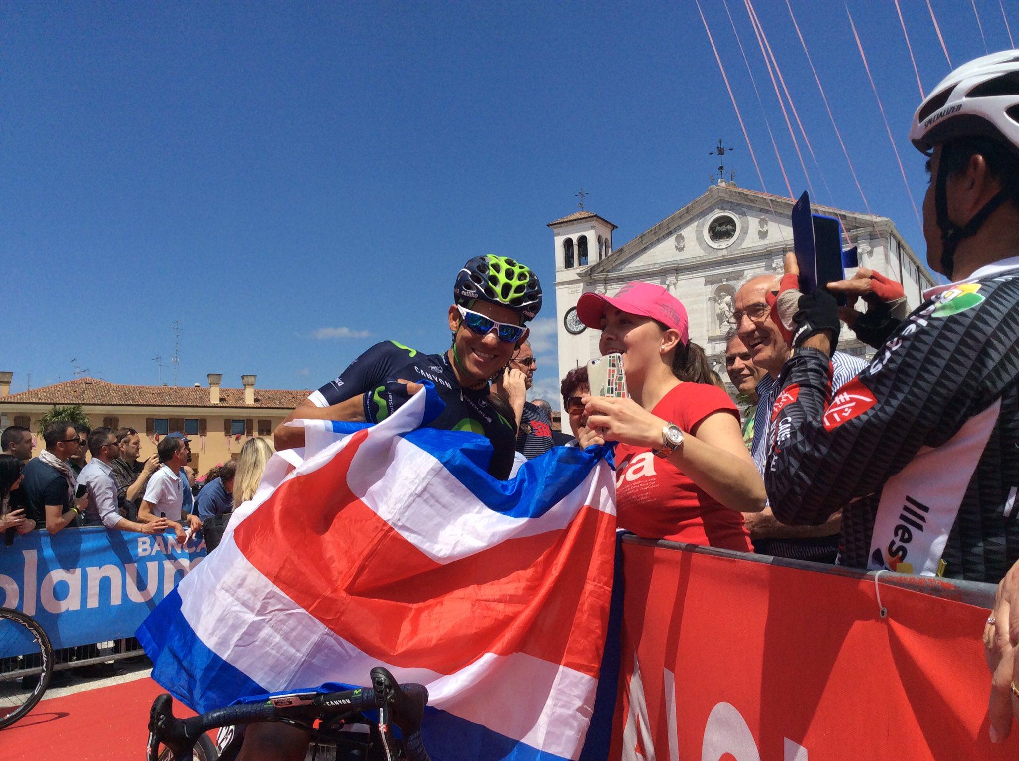 Giro d'Italia, Nieve vince per distacco 13/a tappa