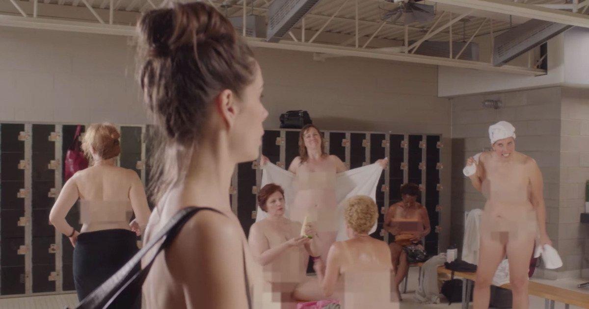 from Jadiel nude women in gymlocker
