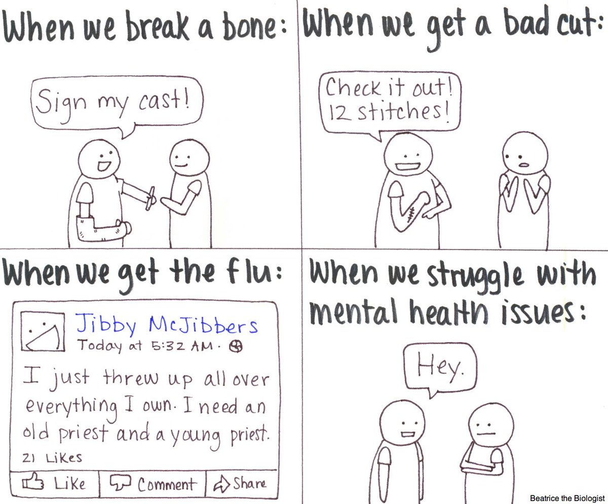 Mental health matters, and we all need help sometimes. (Especially yours truly). https://t.co/PnQyZ8EyGq