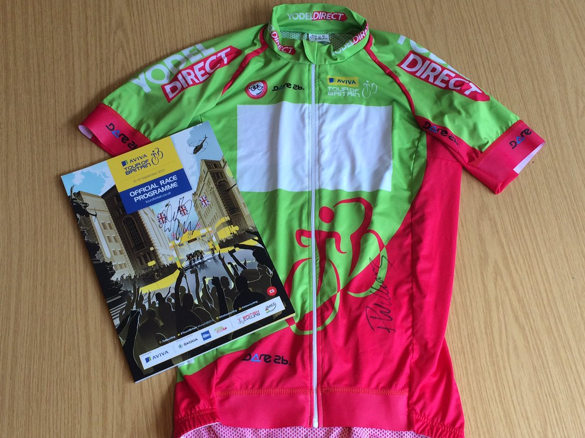 COMPETITION: RT & follow to win signed Yodel Sprints jersey by 2015 winner @williamspete & programme by @EBhagen! https://t.co/3gF9AxCX3Y